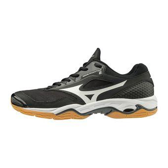Mizuno WAVE PHANTOM 2 - Chaussures hand Homme black/white/dark shadow