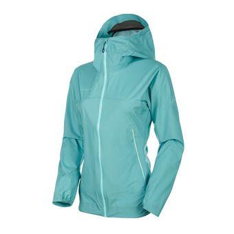 Masao Light HS Hooded Jacket Women Femme waters