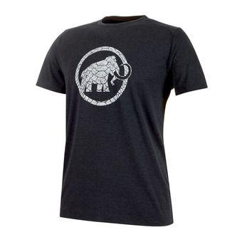 Tee-shirt MC homme TROVAT black melange PRT1