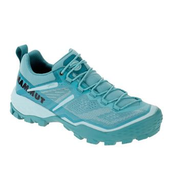 Mammut DUCAN GTX - Hiking Shoes - Women's - waters/dark waters