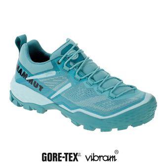 Mammut DUCAN GTX - Chaussures randonnée Femme waters/dark waters