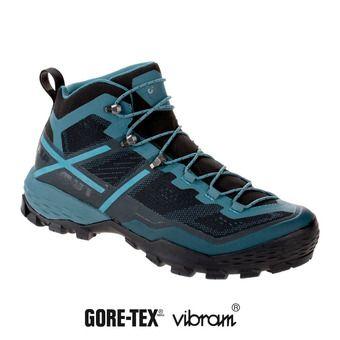 Chaussures randonnée homme DUCAN MID GTX® black-light poseidon