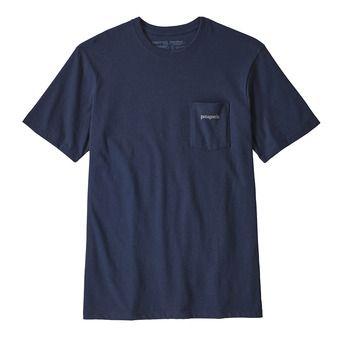 Patagonia LINE LOGO RESP - T-Shirt - Men's - classic navy
