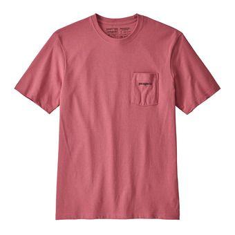 Patagonia LINE LOGO RESP - T-shirt Uomo sticker pink