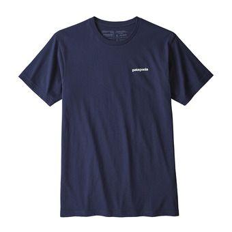 Tee-shirt MC homme P-6 LOGO ORGANIC classic navy