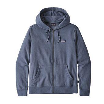Sweat à capuche zippé homme P-6 LABEL LIGHTWEIGHT dolomite blue