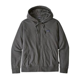 Sweat à capuche zippé homme P-6 LABEL LIGHTWEIGHT forge grey