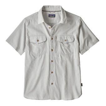 M's Cayo Largo II Shirt Homme Chambray: Feather Grey