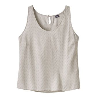 Patagonia JUNE LAKE - Tank Top - Women's - bluff river/pelican