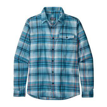 Camisa hombre LW FJORD FLANNEL break up blue
