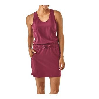 Patagonia FLEETWITH - Abito Donna arrow red
