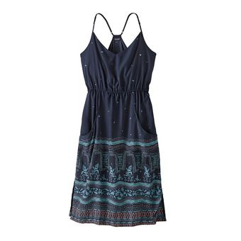 Patagonia LOST WILDFLOWER - Dress - Women's - forest song/neo navy