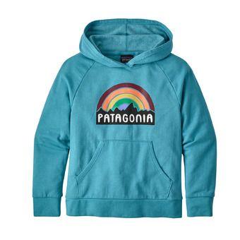 Patagonia FITZ ROY RAINBOW - Sweat Junior mako blue