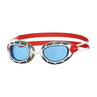 Gafas de natación PREDATOR white/red/tint