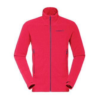 Polartec®  Fleece - Men's - FALKETIND WARM™1 jester red