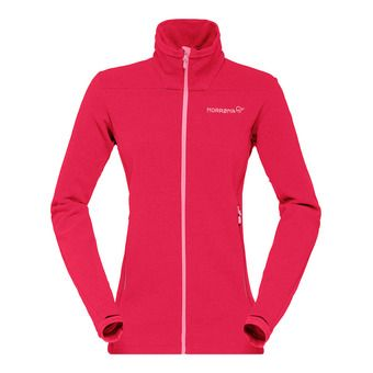 Polartec® Fleece - Women's - FALKETIND WARM™1 jester red