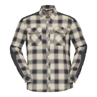 LS Shirt - Men's - SVALBARD FLANNEL sandstone