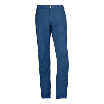 Norrona SVALBARD LIGHT COTTON - Pantalon Homme indigo night