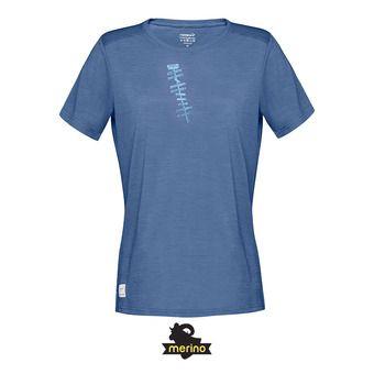 SS T-Shirt - Women's - SVALBARD WOOL indigo night
