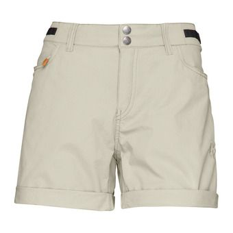 Norrona SVALBARD LIGHT COTTON - Short mujer sandstone
