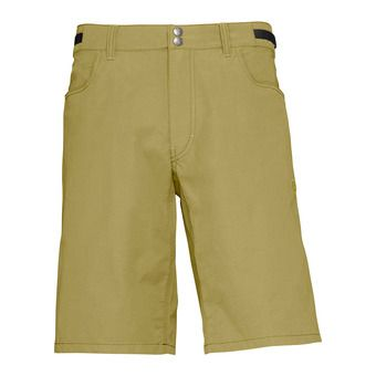 Norrona SVALBARD LIGHT COTTON - Short hombre olive drab