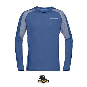 Norrona BITIHORN WOOL - Tee-shirt Homme indigo night