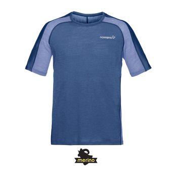Norrona BITITHORN WOOL - Tee-shirt Homme indigo night