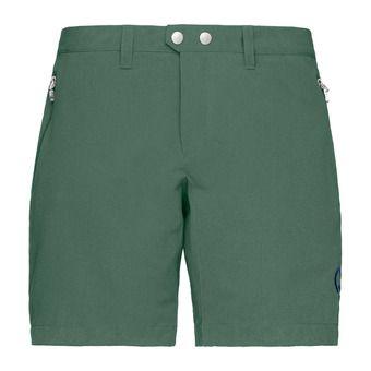 Norrona BITIHORN FLEX1 - Short Femme jungle green