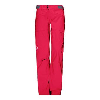 Norrona FALKETIND FLEX1 - Pantalon Femme jester red
