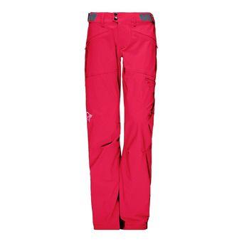 Pantalón mujer FALKETIND FLEX™1 jester red