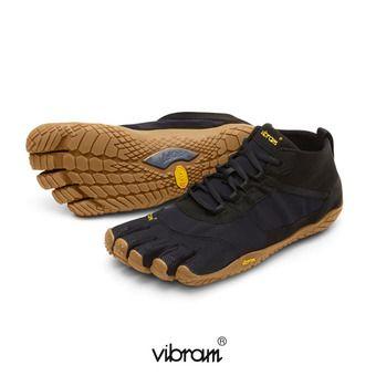 Zapatillas 5 dedos hombre V-TREK negro/gum