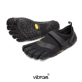 Zapatillas 5 dedos mujer V-AQUA negro