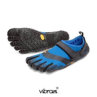 Zapatillas 5 dedos hombre  V-AQUA azul/negro