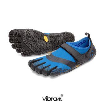 Zapatillas 5 dedos mujer V-AQUA negro/turquesa