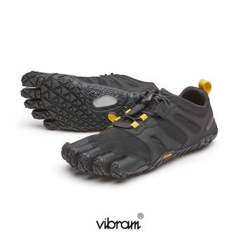 Vibram Five Fingers V-TRAIL 2.0 Femme Noir/jaune