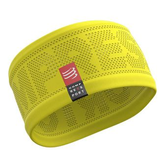 Compressport ON/OFF - Cinta deportiva yellow