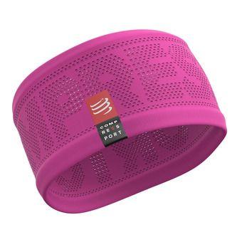 Compressport ON-OFF - Bandeau Femme pink