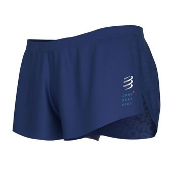 Compressport RACING SPLIT - Sur-short Homme bleu