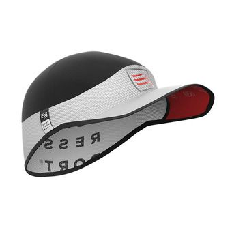 Compressport PRO RACING ULTRALIGHT - Casquette white
