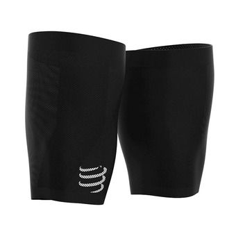 Compressport UNDER CONTROL QUAD - Manchons de cuisse black