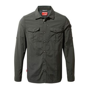 Craghoppers ADVENTURE - Camisa hombre black pepper