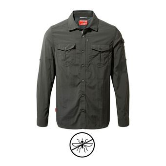 Camisa hombre ADVENTURE black pepper