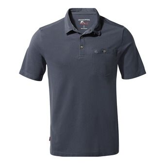 Gilles SS Polo Ombre Blue Homme Ombre Blue