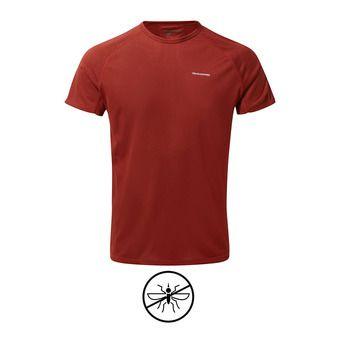 Tee-shirt MC homme BASELAYER firth red