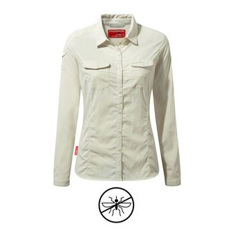 Craghoppers ADVENTURE - Camicia Donna sea salt