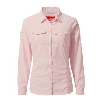 Craghoppers ADVENTURE - Camisa mujer seashell pink