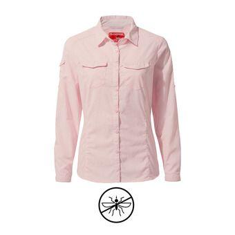 Camisa mujer ADVENTURE seashell pink