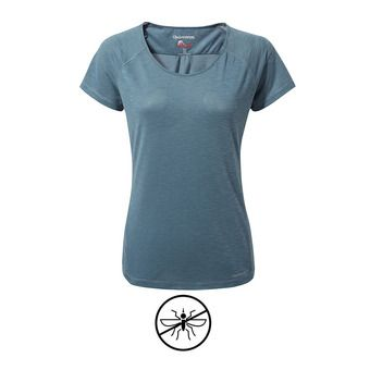 Tee-shirt MC femme HARBOUR venetian teal