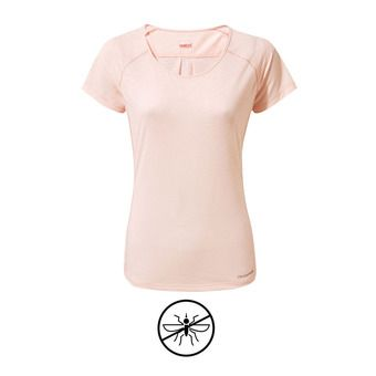 Tee-shirt MC femme HARBOUR seashell pink