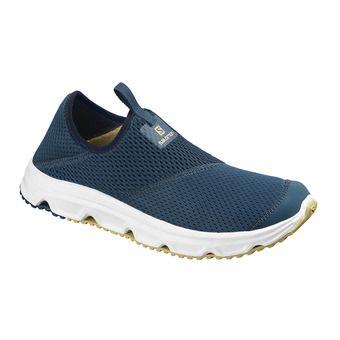 Salomon RX MOC 4.0 - Chaussures récupération Homme poseidon/wht/taos taupe